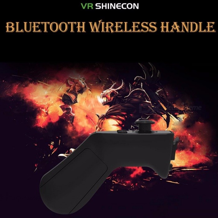 shinecon2 Wireless Bluetooth Gamepad VR-Controller ios Android schwarz