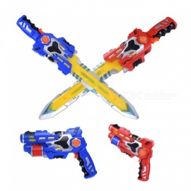 2-In-1-Gun-And-Sword-Electric-Deformation-Toy-Flashing-Light-Sounding-Musical-Pistol-Guns-Toys-For-Boys-Brinquedos-Blue