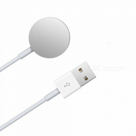 Magnetic Wireless Charger for Apple Watch - White