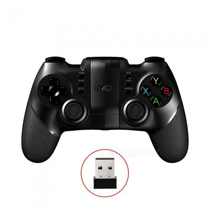 Ipega-PG-9076-Gamepad-Bluetooth-Game-Controller-24G-Wireless-Receiver-Joystick-Android-Ios-Game-Console-Player-Black