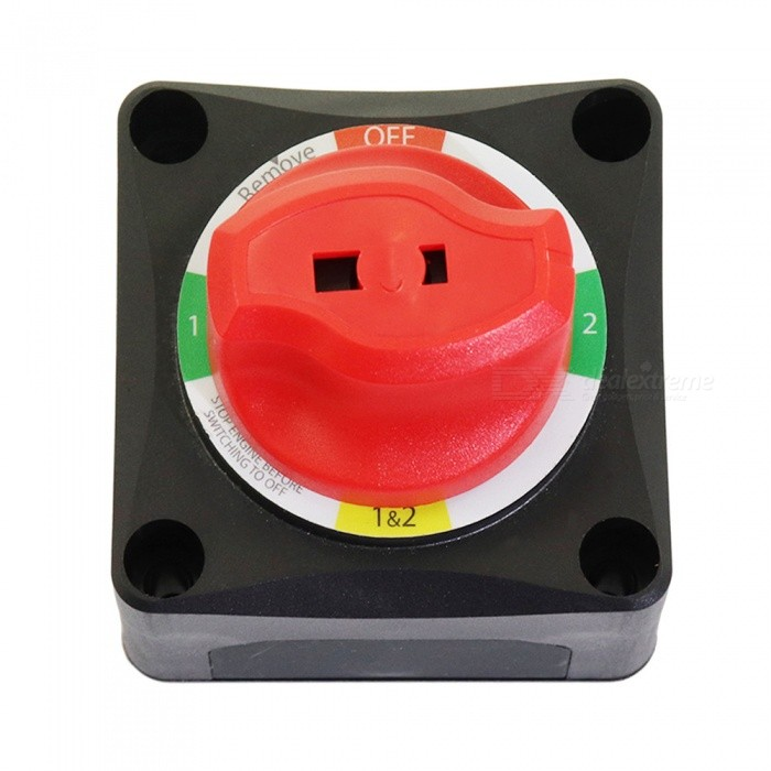 Battery-Selector-Switch-(1-2-Both-Off)-Alternator-Field-Disconnect-4-Position-Dual-Battery-Switch
