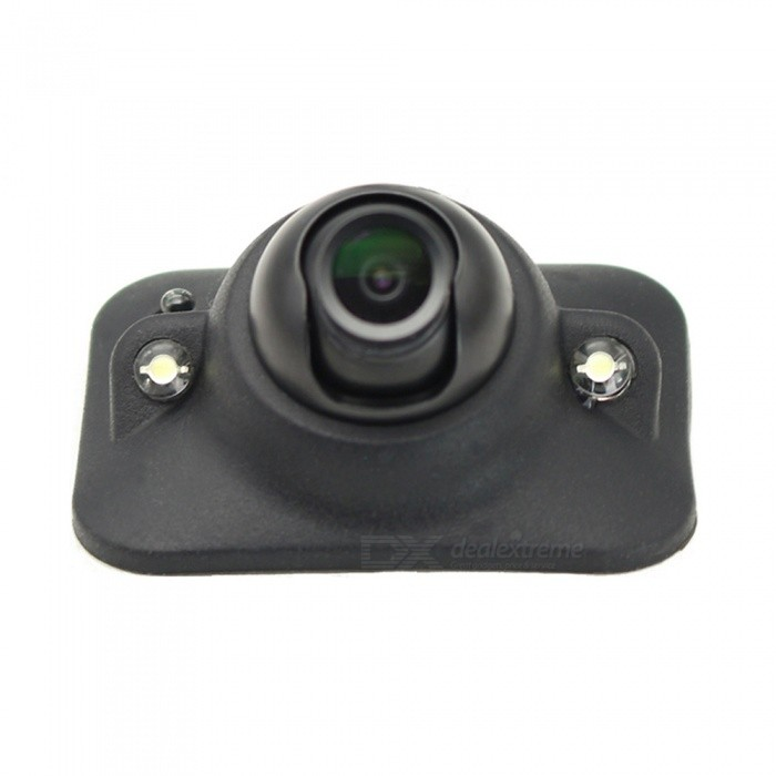 ESAMACT Car Blind Spot Side View Camera with Auto-dimming IR LEDs, Front Camera, NO Guide Line, NO Drilling, Non-mirror Image