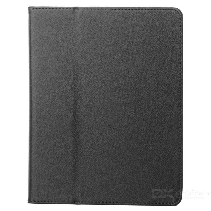 Protective Ultra-thin PU Leather Case for   Ipad 2 (Black)