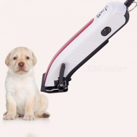 SPORTSMAN-3W-Animal-Hair-Clipper-For-Pet-Hair-Cutter-Professional-Grooming-Kit-Machine-Hair-Cat-Shaver-Red