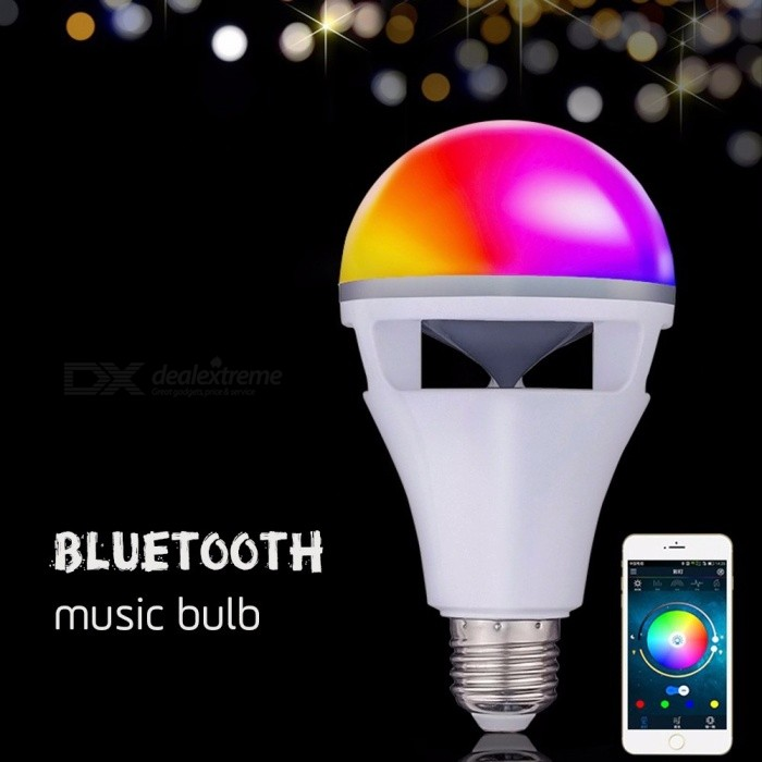 Smart-RGB-Wireless-Bluetooth-Speaker-Bulb-Music-Playing-Dimmable-LED-Bulb-Light-Lamp-With-Phone-APP-Remote-Control-WhiteE27