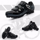 BOODUN Road Racing TPU Soles Mountain Bike Shoes Men Bicycle Cycling Sport Breathable Red/9