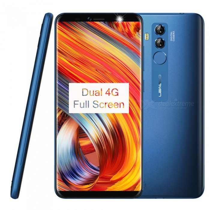 "Leagoo M9Pro 5.72"" 18:9 1440*720 MTK6739V Quad-Core Smart Phone with 2GB RAM, 16GB ROM - Blue"