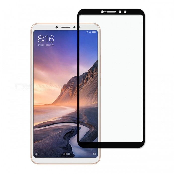 Dayspirit Tempered Glass Screen Protector for Xiaomi Mi Max 3 - Black