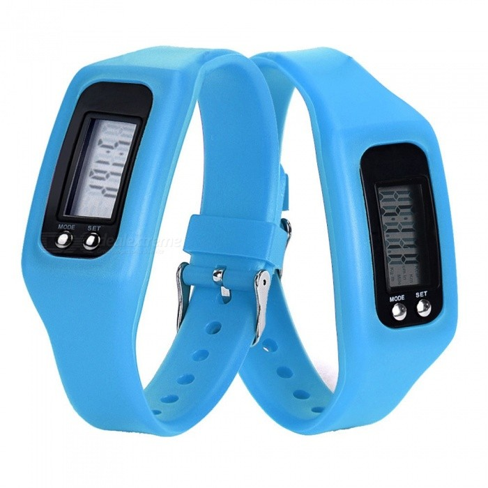 Buy XSUNI Sports Smart Bracelet Watch with Pedometer Function - Blue with Litecoins with Free Shipping on Gipsybee.com