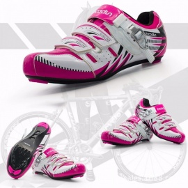 BOODUNBaton-Road-Bike-Mountain-Bike-Dual-use-Lock-Shoes-Bicycle-Shoes-Bicycle-Shoes-Womens-Breathable-Riding-Road-Rose4