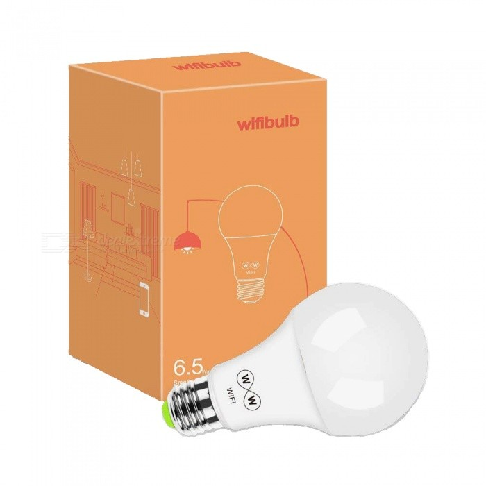 ZHAOYAO-A21-E27-65W-Dimmable-500LM-AC-100-264V-Wi-Fi-Smart-Remote-Control-Warm-White-to-Cold-White-LED-Bulb-Light