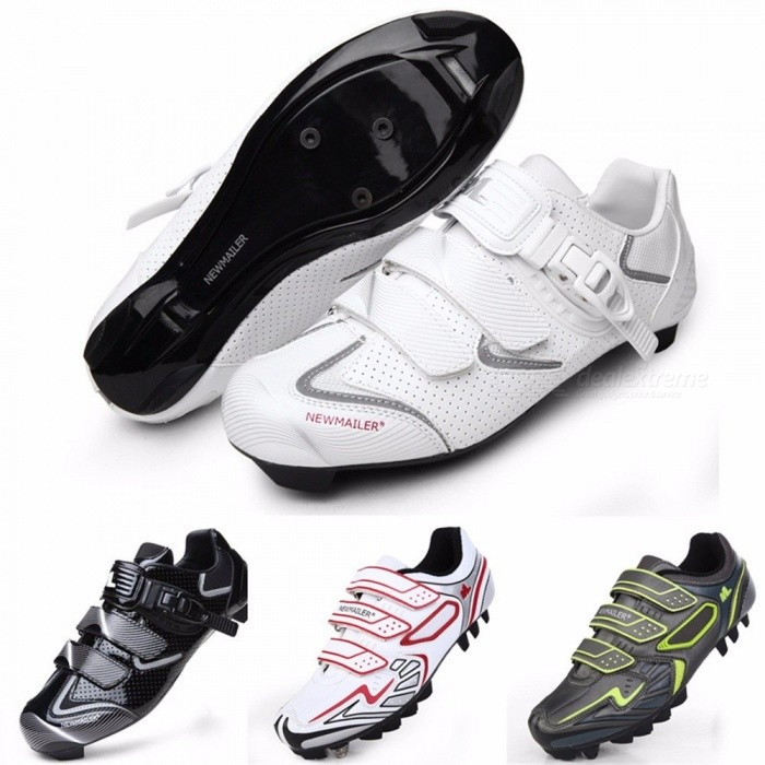 NEWMAILER-Road-Mountain-Cycling-Shoes-Professional-Bicycle-Self-locking-Shoes-Black65