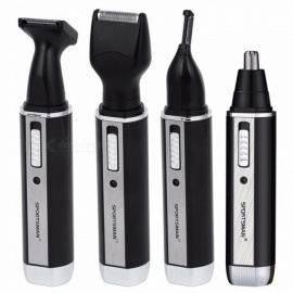 SPORTSMAN-4-In-1-Rechargable-Nose-Trimmer-Electric-Shaver-Beard-Face-Eyebrow-Automatic-Removal-Shaver-For-Men-EU-Plug