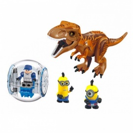 DIY-Building-Block-Jurassic-Dinosaurs-My-World-Figure-Bricks-Compatible-With-Legoingly-Animal-Toys-For-Children-Gift