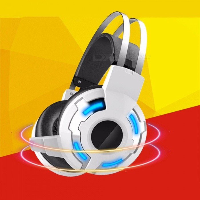 Universal-35mm-Wired-Headphone-Bass-Sound-Headband-Headset-With-Microphone-And-LED-Light-For-Computer-PC-White