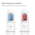 Infrared-Electronic-Digital-Thermometer-Gun-Non-Contact-IR-Forehead-Infant-Kids-Temperature-Measurement-Diagnostic-Tool-White