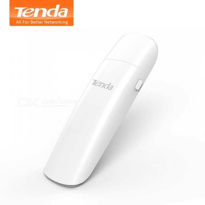 Tenda U12 1300Mbps Wireless USB Network Cards AC Dual-Band 2.4G/5.0GHz WiFi USB Network Adapter USB 3.0 White