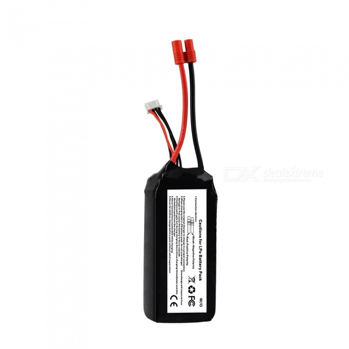 11.1V 5200Mah 3S2P 20C Lipo Battery for Walkera QR X350 PRO RC Drone Quad-copter Helicopter