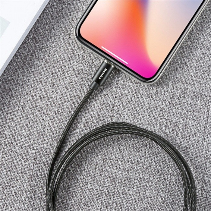 Benks 1.2m Magnetic Charger USB Cable Type C Lightning Mobile Phone Fast Charging Nylon Cable Samsung IPHONE /MICRO USB