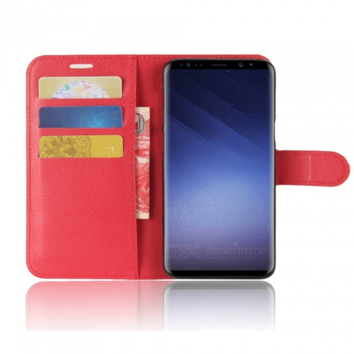 Dx coupon: Naxtop Phone Wallet Flip Leather Holder Cover Case for Samsung Galaxy S9