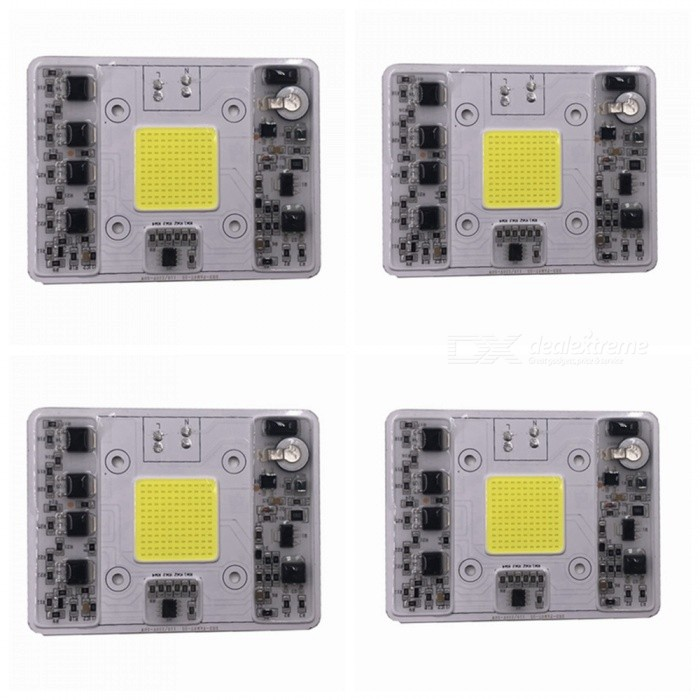 ZHAOYAO-4Pcs-AC110-220V-50W-COB-LED-Dimmable-Lamp-Integrated-Light-Source