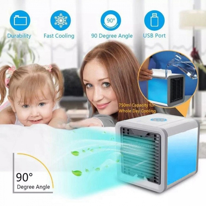 ESAMACT Air Cooler, Small Air Conditioning Appliances Mini Fan