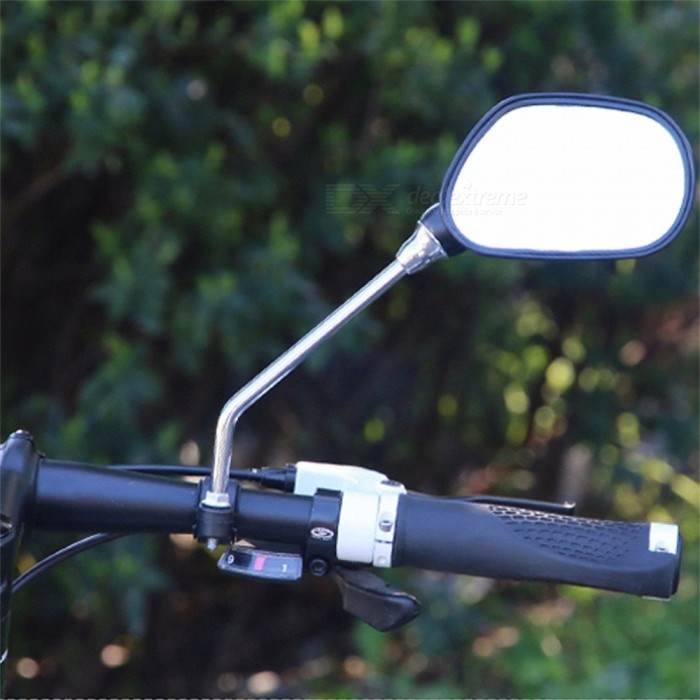 Bicycle Rearview Mirror Bicycle Reflector Practical Portable ABS Plastic 3color