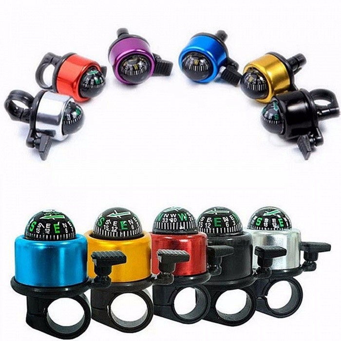 ... Mountain Bike Bicycle Bell Aluminum Alloy Compass Bell Bicycle Accessories Outdoor Sport ...