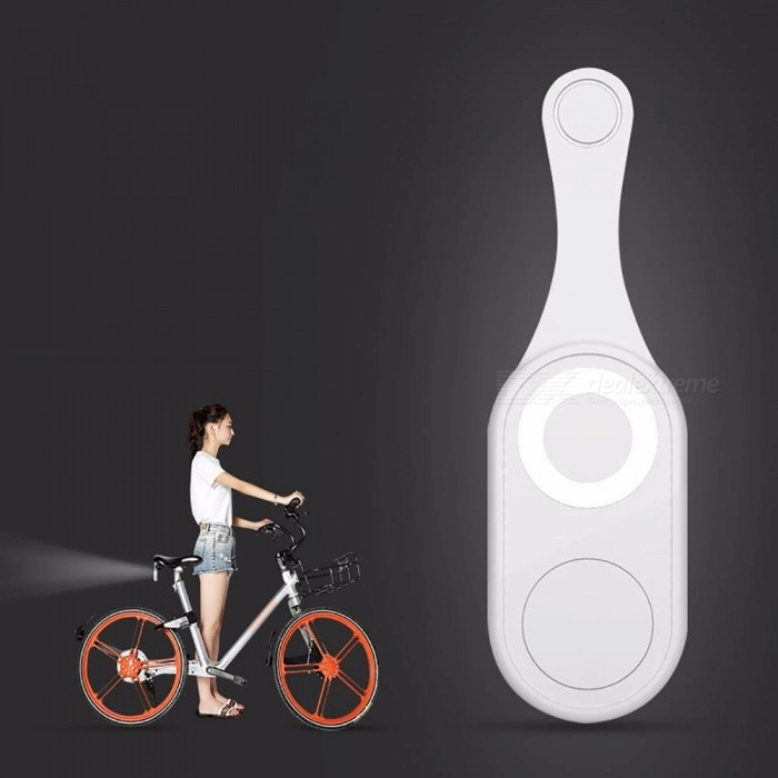 USB Rechargeable Silicone LED Bicycle Headlight Front Safety Light USB Charging Night Riding Lights Light Grey