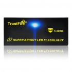 TrustFire X7 SST-50 5-Mode 1300-Lumen Memory White LED Flashlight with Batteries Set (3x18650)