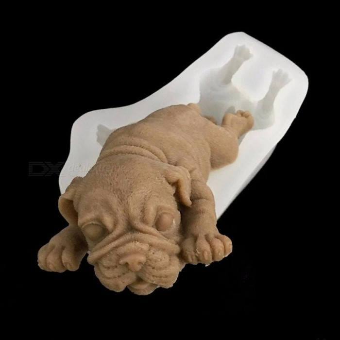 Other Kitchen Tools 3d Dog Cake Bread Mold Silicone Shar