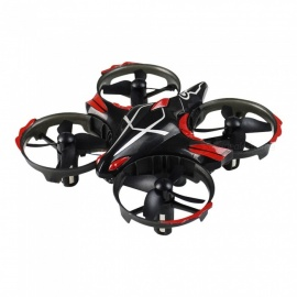Taiw-T2G Little Monster 2.4G Infraroodsensor Dual-Mode RC Quadcopter RTF Met Hoogte Hold-modus - Zwart