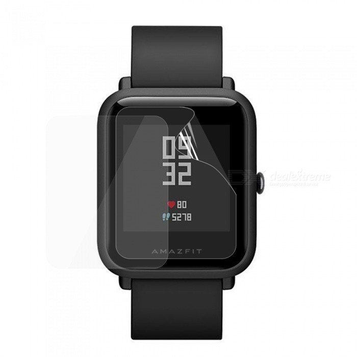 TPU Soft Screen Protector Film for Huami Amazfit Smartwatch