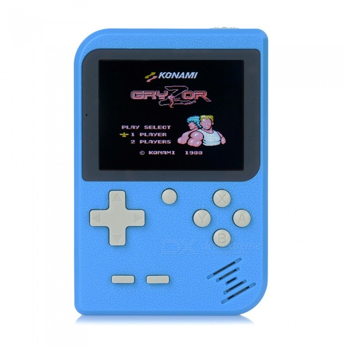 Image of Mini Handheld Game Console, 8Bit 2.8 Inches Color LCD Game Player w/ Built-in 168 Games