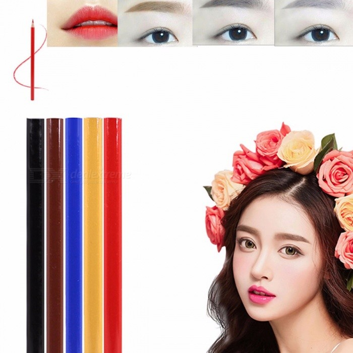Buy Semi-Permanent Special Eyebrow Pencil, Waterproof Anti-Ma Lip Line Design Tattoo Manual Pen, Microblading Pen Complexion with Litecoins with Free Shipping on Gipsybee.com