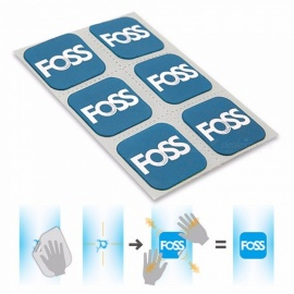 FOSS Bicycle Tire Patches, Tyre Repair Inner Tube MTB Road Bike Dedicated Quick Fix Self