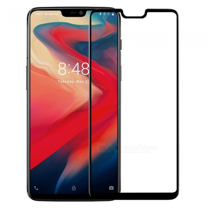 Nillkin 3D CP+MAX Full-screen Transparent Mobile Phone Tempered Glass Screen Protector Film For Xiaomi OnePlus 6 Black/Tempered Glass