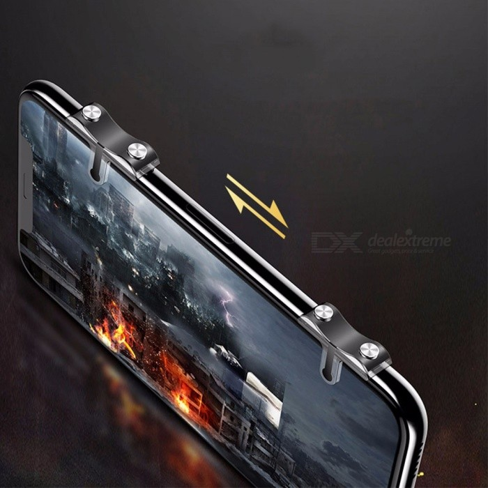 Baseus Sensitive Game Controller, Mobile Phone Gamepad, Clear Artifact PUGB Game Playing Auxiliary For Andrioid Phones