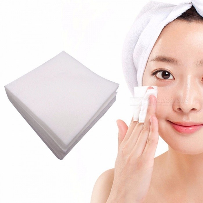 Buy 1200Pcs Disposable Facial Towel Organic Cotton Pads Travel Make Up Cleansing Wipes, Face Wash Skin Care Paper Wipe White with Litecoins with Free Shipping on Gipsybee.com
