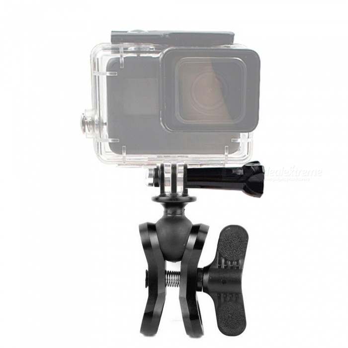 XSUNI-CNC-Spherical-Butterfly-Clip-Arm-for-Gopro-Clamp-Mount-Aluminum-Digital-SLR-Camera-Accessories