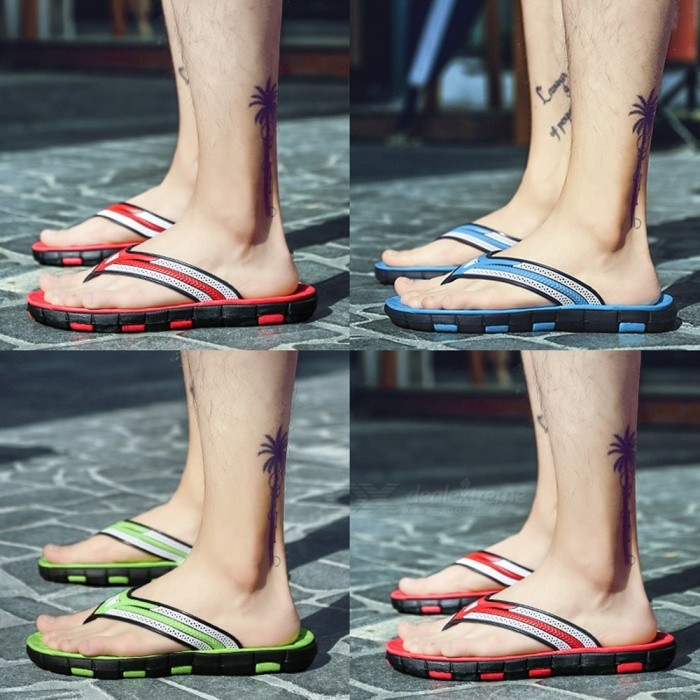 Summer-Mens-Flip-Flops-High-Quality-Beach-Sandals-Non-slip-Male-Slippers-Casual-Shoes-For-Men-Blue40