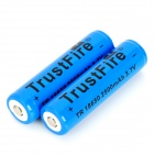 TrustFire Protected 18650 Lithium Battery - Blue (2500mAh 2PCS)