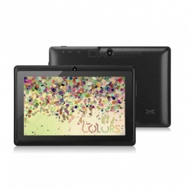 "7"" Q88 Single Core Android 4.0 Kids Tablets TF Card Bluetooth Android Tablet Black"