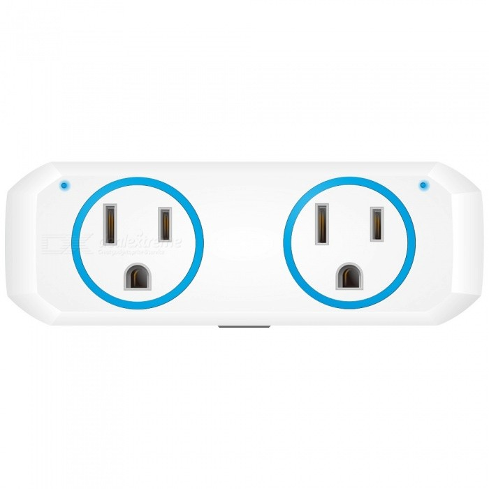 OUKITEL P1 Wi-F Mini Smart Plug Socket, Works with Alexa Echo Google Home and IFTTT