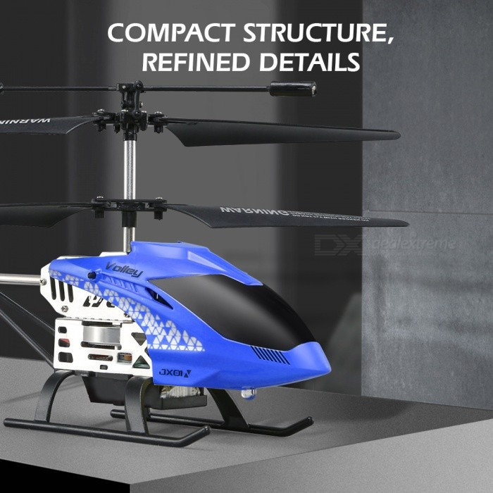 JJRC JX01 DAWN RC Helicopter 2.4G 6-Axis Gyro with Altitude Hold Mode - Blue