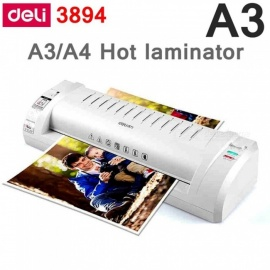 Deli-3894-Hot-Pouch-Laminator-220VAC-A3A4A5-Size-Photo-Documents-Laminator-Temprature-Gear-With-Urgency-Stop
