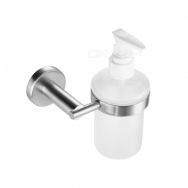 SBH075-SUS304-Round-Shape-Stainless-Steel-Wall-Mounted-Liquid-Soap-Dispenser-Holder