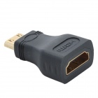 HDMI Female to Mini HDMI Male Adapter/Converter - Black