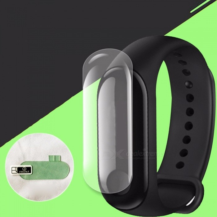 Screen Protector Film For Xiaomi Mi Band 3 3D Explosion Proof Protector Clear