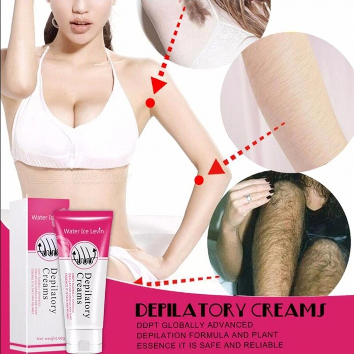 Buy Portable Premium Painless Body Leg Hair Removal Cream for Women Other with Litecoins with Free Shipping on Gipsybee.com